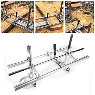 SHIOUCY Chainsaw Mill 36 Zoll Mobiles Sägewerk Holz Sägehilfe für 14'' bis 36'' Kettensäge Motorsäge Tragbare Kettensäge Mühle Aluminium Stahl Schweißen Sägewerk