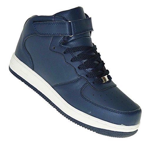Skater Tops Schuhe High (Art 216 High Top Basketballschuhe Schuhe Sneaker Skater Skaterschuhe Neu Herren, Schuhgröße:43)