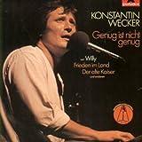 Songtexte von Konstantin Wecker - Genug ist nicht genug