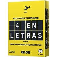 Edge Entertainment EEES4L01 - Juego de cartas 4 en Letras