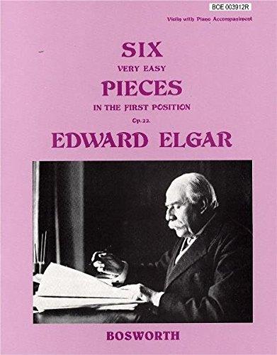 Edward Elgar: Six Very Easy Pieces for Violin Op.2...