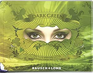 Bausch & Lomb Optima Natural Look Contact Lenses(1 Lens / Box) Dark Green Thr