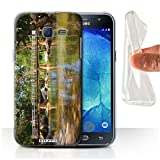 Custodia/Cover/Caso/Cassa Gel/TPU/Prottetiva STUFF4 stampata con il disegno Thailandia Paesaggio per Samsung Galaxy J5/J500 - Passerella