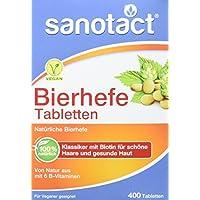 Sanotact Bierhefe Tabletten, 400 Stück preisvergleich bei billige-tabletten.eu