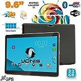 Tablette 4G 9.6 pouces Android 5.1 Dual SIM Octa Core GPS 32Go Noir