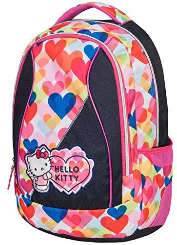 Hello Kitty LIGHT HEARTS Zainetto per bambini, 46 cm, 28 liters, Multicolore (Mehrfarbig)