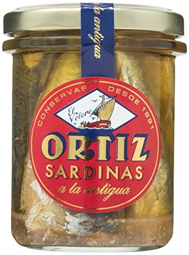 Sardine all,antica in olio di oliva 190g Ortiz selezione Zapore Jai