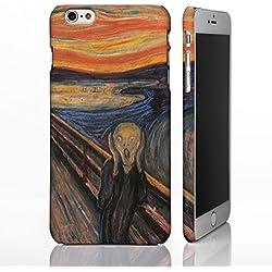 Coque pour téléphones iPhone - Collection art classique Coque inspirée de peintures célèbres., plastique, The Scream - Edvard Munch, iPhone 6 / 6S