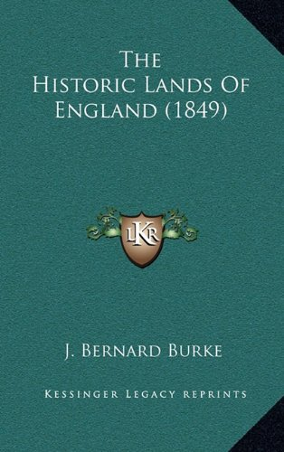 The Historic Lands of England (1849)