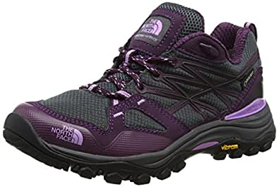 The North Face Damen Hedgehog Fastpack Lite Ii GTX Trekking-& Wanderhalbschuhe, Grau (Dark Shadow Grey/Violet), 36 EU