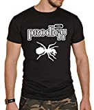 The Prodigy Black Mens Rock Band Round Neck T-Shirt New