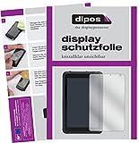 dipos I 2X Schutzfolie klar passend für Caterpillar T20 Folie Bildschirmschutzfolie