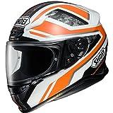 Shoei NXR Parameter Motorcycle Helmet L Orange White (TC-8)
