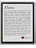 Best Romantic Gifts - Personalised Love Poem Framed Canvas Gift - You Review
