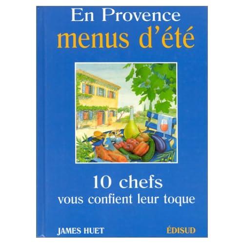 En Provence, menus d'été