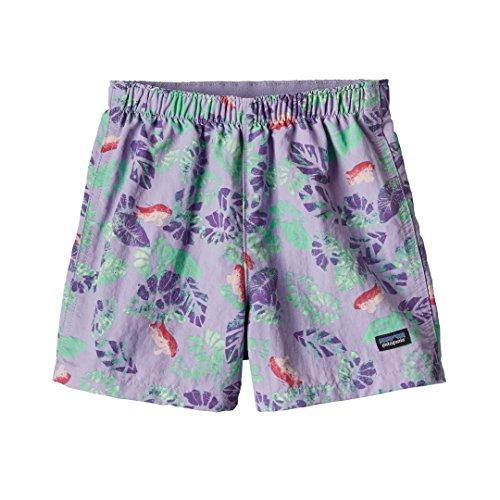 Patagonia Baby Baggies Shorts Garibaldi Tropics: Petoskey Purple 4T (Kids)