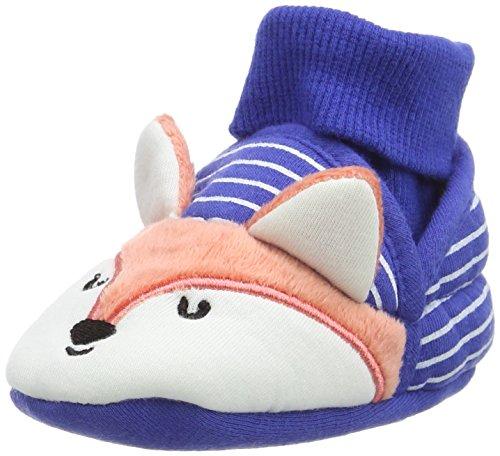 Joules V_babynprslpb, Chaussons pour bébé premiers pas bébé garçon Multicolore - Multicolor (Fox)