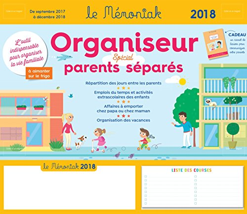 Organiseur Parents séparés Mémoniak 2017-2018