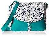 #6: Kanvas Katha Women's Sling Bag (Aqua) (KKVGT008)