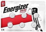 Energizer CR2032 Lot de 6Piles au Lithium 3V