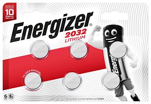 Energizer Spezialbatterie (CR2032 Lithium 3Volt 6er-Maxipack)