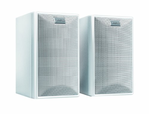 Quadral Maxi 330 W 2-Wege Regallautsprecher Paar (100/150 Watt) weiß