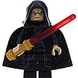LEGO Star Wars Figurenauswahl Darth Vader Yoda Ewok C-3PO und viele mehr mit GALAXYARMS Waffen (Emperator Palpatine)