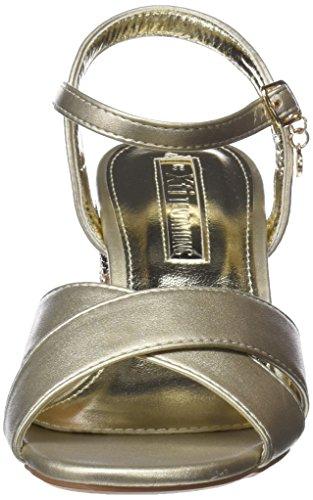 Sandali Con Cinturino Alla Caviglia Xti Ladies 30704 Oro