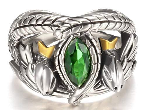 Herr der Ringe Aragorns Ring Barahir Geburtstag Weihnachten Geschenk Größe 6 (Aragorn Ring)