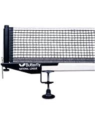 Butterfly National League Table Tennis Net & Post Set 11303