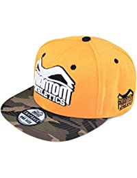 "'Phantom Athletics Cap ""Team – Naranja/Camo"