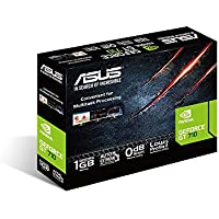 ASUS GT710-SL-1GD5 GeForce GT 710 1GB GDDR5 - Tarjeta Gráfica (GeForce GT 710, 1 GB, GDDR5, 32 bit, 2560 x 1600 Pixeles, PCI Express x16 2.0)