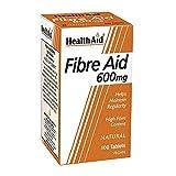 HealthAid Fibre Aid 600mg - 100 Comprimés végétaliens