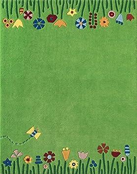 Kinderteppich blumenwiese  HABA 2908 Wiese Teppich: Amazon.de: Spielzeug
