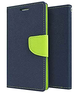 Premium Wallet Case Flip Cover for Micromax A110