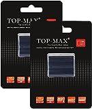 TOP-MAX® 2X CGA-S006E Li-ion Battery for Panasonic Lumix DMC-FZ18,DMC-FZ28,DMC-FZ7,DMC-FZ8,DMC-FZ30,DMC-FZ30K,DMC-FZ35,Replacement for Panasonic batteries CGA-S006E,CGA-S006,CGA-S006E/1B,CGR-S006,CGR-S006E,CGR-S006A/1B,DMW-BMA7