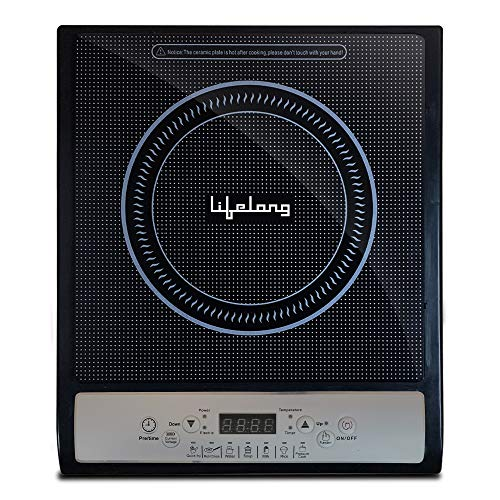 Lifelong Inferno LLIC20 1400-Watt Induction Cooktop (Black)