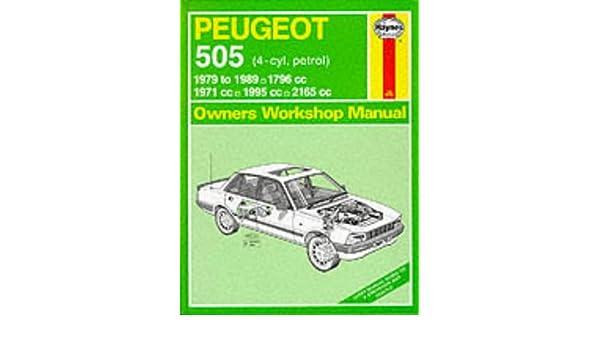peugeot 505 petrol 1979 89 owner s workshop manual service rh amazon co uk Peugeot 405 Peugeot 604