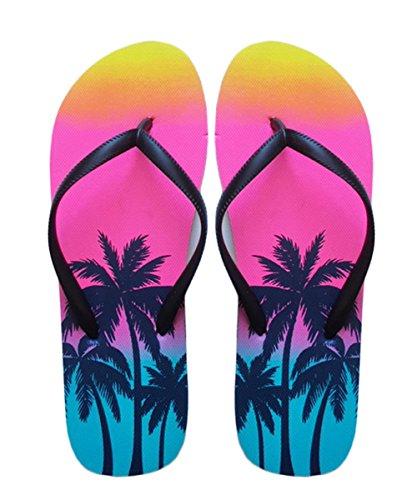SUGAR ISLAND® Damen-Mädchen-Herren Flip Flop Summer Beach Pool Schuhe Mädchen Flip-flops Für Den Pool