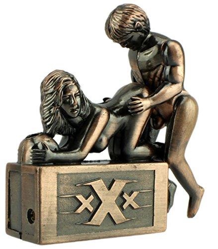 GYD XXX XXL Feuerzeug Tischfeuerzeug Chrom Sammlerstück mit Sound #2