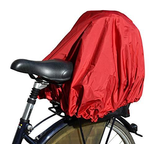 NICE \'n\' DRY Abdeckung und Regenschutz für Fahrradkorb XXL rot