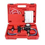 EBTOOLS Sistema di raffreddamento del radiatore per auto Kit per il rifornimento di liquido di spurgo e refrigerante per vuoto e cambio di liquido antigelo