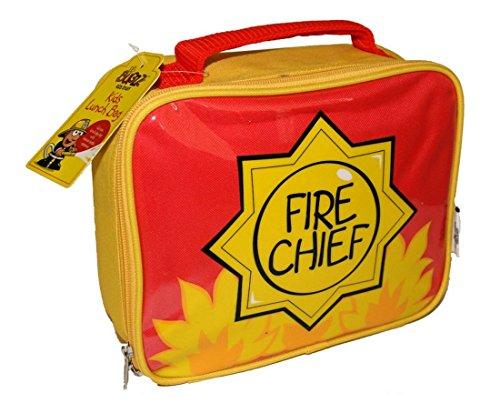 Bugzz - Sac à Goûter pour enfant Thème Pompier