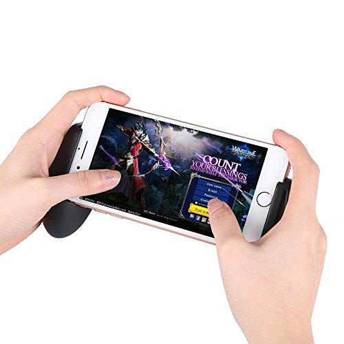 Controlador de Juego Móvil, Mando de Juego Móvil, Disparador de Juego Móvil para PUBG/Reglas de Supervivencia/Cuchillas Gamepad Móvil para teléfonos Android iOS DE 4.5-6.0 Inch
