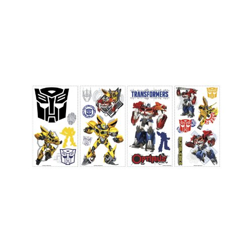 RoomMates Stickers repositionnables Transformers Hasbro 25,4CM X 45,7CM