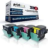 Kompatibles Toner Sparset für Lexmark C540N C543DN C544DN C544DTN C544DW C544N C546DTN C540H2KG C540H2CG C540H2MG C540H2YG
