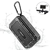 Enceinte Bluetooth Portable Rechargeable Speaker 10w 2200mAh, Etanche IPX7 Enceinte V¨¦lo, Supporte Carte TF/AUX, Compatible Android, iOS, iPad, PC