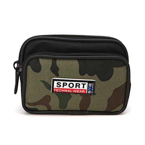 Kimyu Universal Outdoor Tactical Holster Military Molle Hüfte Gürtel Tasche Brieftasche Geldbörse Telefon Fall mit Reißverschluss für iPhone 7 Plus Samsung Galaxy S8 Plus und mehr