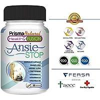 ANSIESTOP - Combate los síntomas de la ansiedad y el estrés – Acaba con el nerviosismo y facilita el descanso.