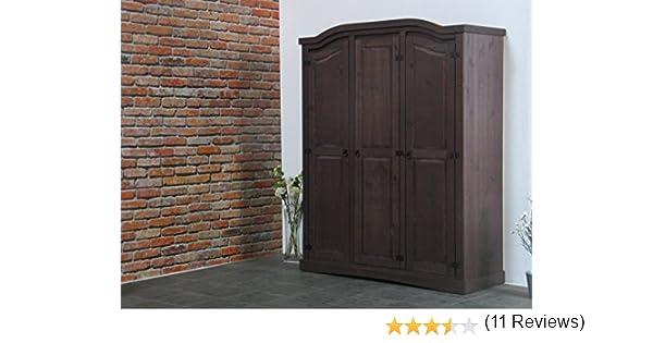 5trg Massiv Kiefer Mexiko Kleiderschrank New Mexico Schlafzimmer ... Schlafzimmerschrank